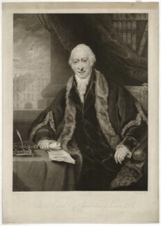 Richard Clark, by Charles Turner, after  Maria, Lady Bell (née Hamilton) - NPG D33291