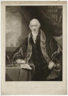 Richard Clark, by Charles Turner, after  Maria, Lady Bell (née Hamilton), published 1820 - NPG D33291 - © National Portrait Gallery, London