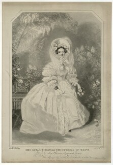 Princess Victoria, Duchess of Kent and Strathearn, by Richard James Lane, published by  Thomas Boys, after  Alfred Edward Chalon - NPG D33296