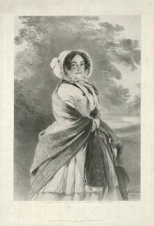 Princess Victoria, Duchess of Kent and Strathearn, by Richard James Lane, published by  John Mitchell, after  Franz Xaver Winterhalter - NPG D33297