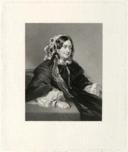Princess Victoria, Duchess of Kent and Strathearn, by Francis Holl, after  Franz Xaver Winterhalter - NPG D33298