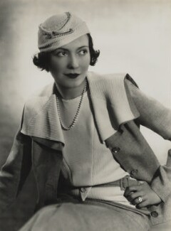 Adèle Astaire (Lady Charles Cavendish), by Madame Yevonde - NPG x11643