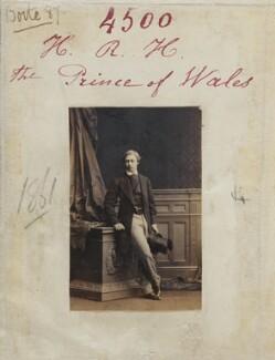 King Edward VII, by Camille Silvy - NPG Ax54512