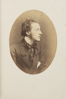 Sir John Everett Millais, 1st Bt, by Herbert Watkins - NPG Ax7919