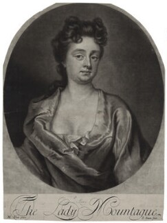Mary Montagu (née Churchill), Duchess of Montagu, by John Simon, after  Michael Dahl - NPG D27380