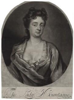 Mary Montagu (née Churchill), Duchess of Montagu, by John Simon, after  Michael Dahl, early 18th century - NPG D27380 - © National Portrait Gallery, London
