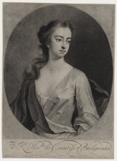 Elizabeth Egerton (née Churchill), Countess of Bridgewater, by John Simon, sold by  Edward Cooper, after  Michael Dahl - NPG D27383