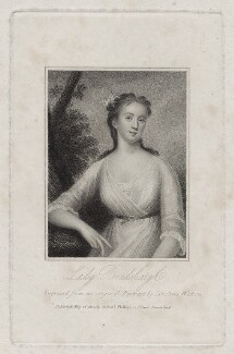 fictitious portrait called Dorothy Bradshaigh (née Bellingham), Lady Bradshaigh, by Caroline Watson, after  Unknown artist - NPG D27389