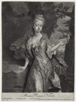 Margaret Nicholls, by William Faithorne Jr, after  Michael Dahl - NPG D27391