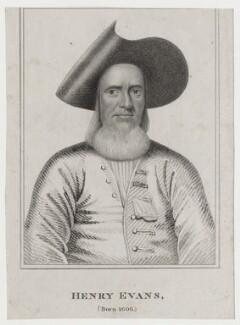 Henry Evans, after Unknown artist - NPG D27392