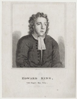 Edward ('Toby') King, by R. Grave, after  Unknown artist - NPG D27395