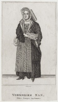 Nan of Yorkshire, by R. Grave, after  Unknown artist - NPG D27400
