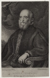 Francesco Cornaro, by James William Giles, after  Titian - NPG D27402