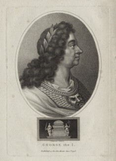 King George I, by John Chapman, after  Unknown artist - NPG D27406