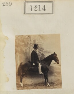 George William Frederick Brudenell-Bruce, 2nd Marquess of Ailesbury, by Camille Silvy - NPG Ax50656