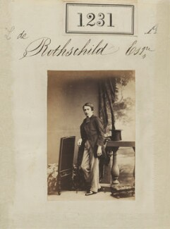 Leopold de Rothschild, by Camille Silvy - NPG Ax50668