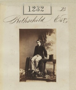 Leopold de Rothschild, by Camille Silvy - NPG Ax50669