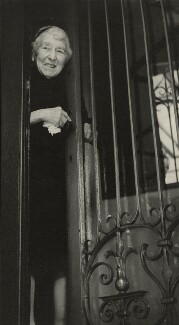Laura Knight, by Madame Yevonde, 1967 - NPG x26356 - © Yevonde Portrait Archive