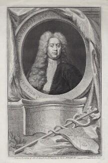 Sir William Wyndham, 3rd Bt, by Jacobus Houbraken, published by  John & Paul Knapton, after  Jonathan Richardson - NPG D27430