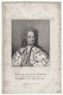 William Luckyn Grimston, 1st Viscount Grimston, published by John Scott - NPG D27442