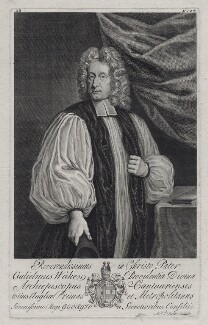 William Wake, by Michael Vandergucht, after  Thomas Gibson - NPG D27444