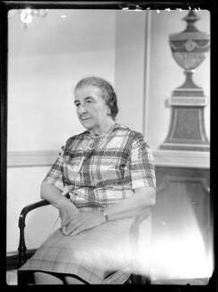 Golda Meir, by Bassano & Vandyk Studios - NPG x174601
