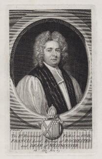 Francis Atterbury, by George Vertue, after  Sir Godfrey Kneller, Bt, 1735 - NPG D27448 - © National Portrait Gallery, London