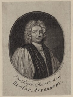 Francis Atterbury, by Michael Vandergucht, after  Sir Godfrey Kneller, Bt - NPG D27450