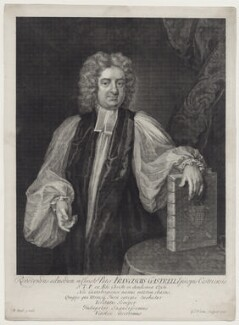 Francis Gastrell, by George Vertue, after  Michael Dahl - NPG D27453