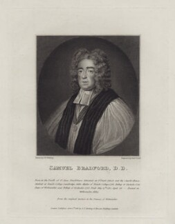 Samuel Bradford, by George Perfect Harding, after  Robert Grave - NPG D27454