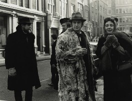Tony Gray; Bruce Lacey; Joyce Grant; Dougie Gray and two unknown men, by Lewis Morley - NPG x131815