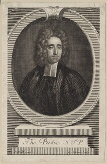 Thomas Bisse, by George Vertue, after  Thomas Hill - NPG D27459