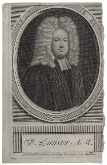 Samuel Dunster, by Michael Vandergucht - NPG D27463