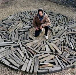 Richard Long, by Eamonn McCabe - NPG x131771