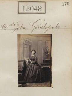 Julia Sevastopulo (née Geralopulo), by Camille Silvy - NPG Ax62689