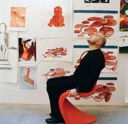 Marc Quinn, by Eamonn McCabe, 2002 - NPG x131781 - © Eamonn McCabe