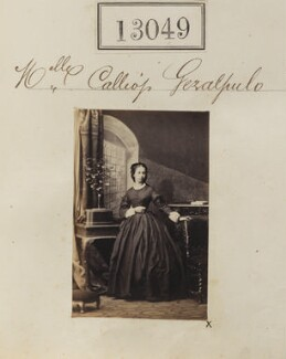 Calliope Geralopulo, by Camille Silvy - NPG Ax62690