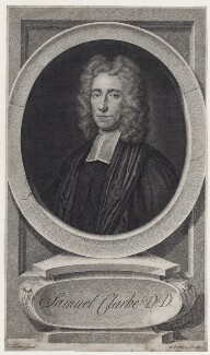 Samuel Clarke, by George Vertue, after  Thomas Gibson - NPG D27469