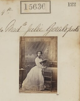 Julia Sevastopulo (née Geralopulo), by Camille Silvy - NPG Ax63568