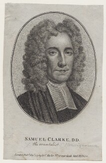 Samuel Clarke, after Thomas Gibson - NPG D27470