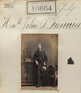 John Fiennes Twisleton-Wykeham-Fiennes, 17th Baron Saye and Sele, by Camille Silvy - NPG Ax60375