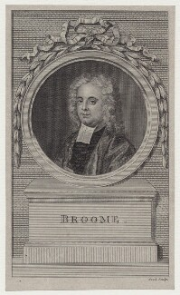 William Broome, by Thomas Cook, after  John Theodore Heins (Dietrich Heins) - NPG D27486