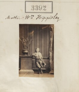 William Henry Hippisley, by Camille Silvy - NPG Ax52789