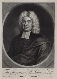 John Nesbitt, by George White, after  John Wollaston - NPG D27502