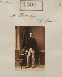 Edward Heneage, 1st Baron Heneage, by Camille Silvy - NPG Ax50709