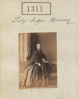 Susan Catherine Mary (née Murray), Countess of Southesk, by Camille Silvy - NPG Ax50714