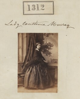 Constance Euphemia Woronzow (née Murray), Lady Elphinstone, by Camille Silvy - NPG Ax50715