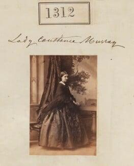 Constance Euphemia Woronzow (née Murray), Lady Elphinstone, by Camille Silvy - NPG Ax50715