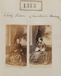 Constance Euphemia Woronzow (née Murray), Lady Elphinstone, by Camille Silvy - NPG Ax50717