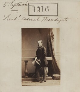 Francis William Newdigate, by Camille Silvy - NPG Ax50719
